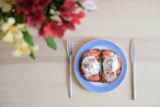Рецепт завтрака с лососем от Тани Рыбаковой