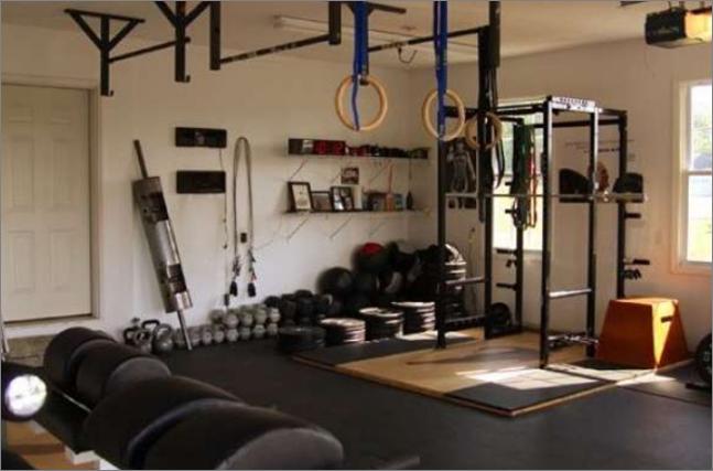 Как оборудовать домашний спортзал?