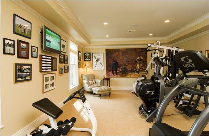Как оборудовать домашний спортзал