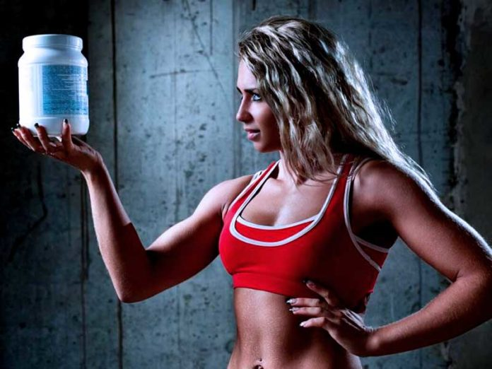 Спортивный протеин